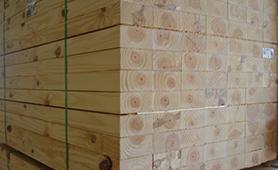 Brazil pine KD Industrial 75mm x 100mm